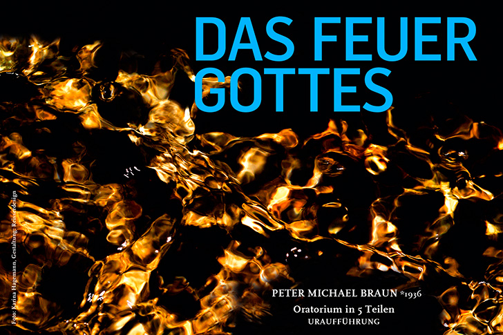 Postkarte Feuer Gottes overview
